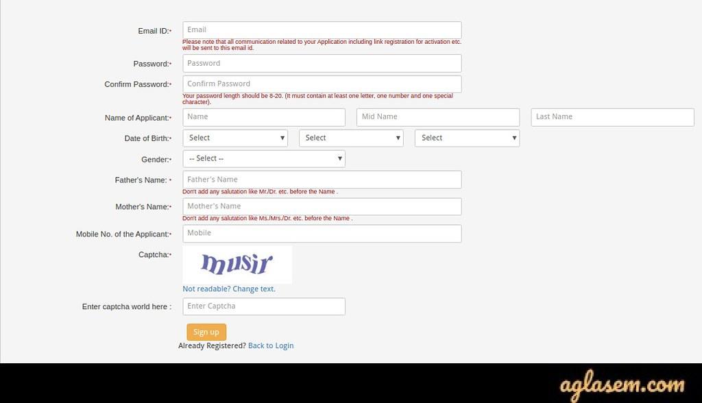 Jamia Millia Islamia Online Admission Form 2020 - 21