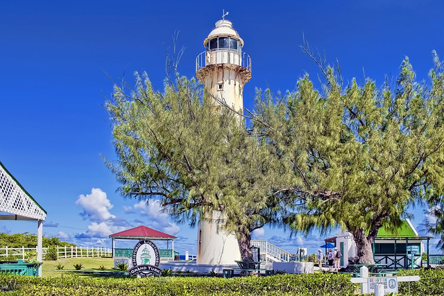 Grand Turk Lighthouse, Grand Turk Island, Turks and Caicos Islands / Completed: 1852 / Architect: Alexander Gordon /  Built by Chance Brothers in England / Height 59 ft (18m)