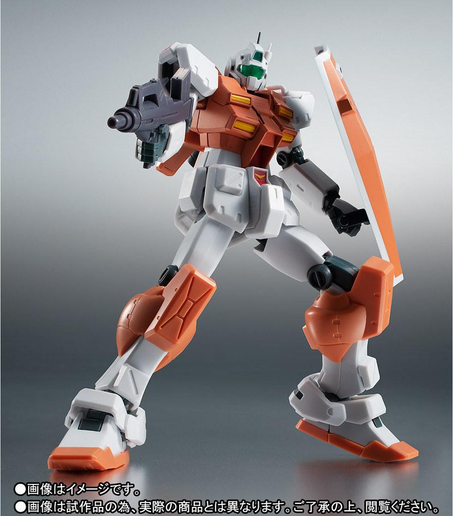 ROBOT魂 《機種戰士鋼彈0083:星塵回憶》RGM-79 高出力型吉姆(パワード・ジム) ver. A.N.I.M.E.