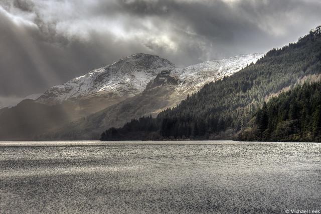 Loch Eck; Cowal peninsula, Argyll, Scotland