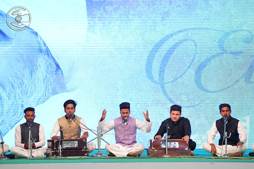 Dheeraj Ji and Sathi presented Sufi Medley