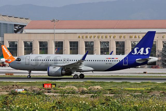 SE-ROK Airbus A.320-251N SAS AGP 08-02-20