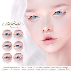 .Stardust's Dreamer Eyelashes at Uber - February 25th.