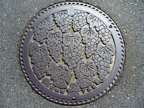 Hojo Tottori, manhole cover (鳥取県北条町のマンホール)