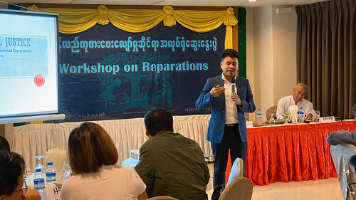 two-day workshop on Reparation in Nyipyitaw