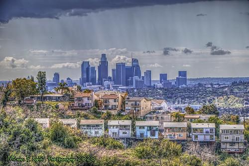 montecitoheights losangeles ernestedebsregionalpark california southerncalifornia skyline downtownlosangeles cityscape