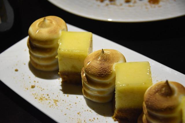 Lemon meringue pie, Drome Provencal, France