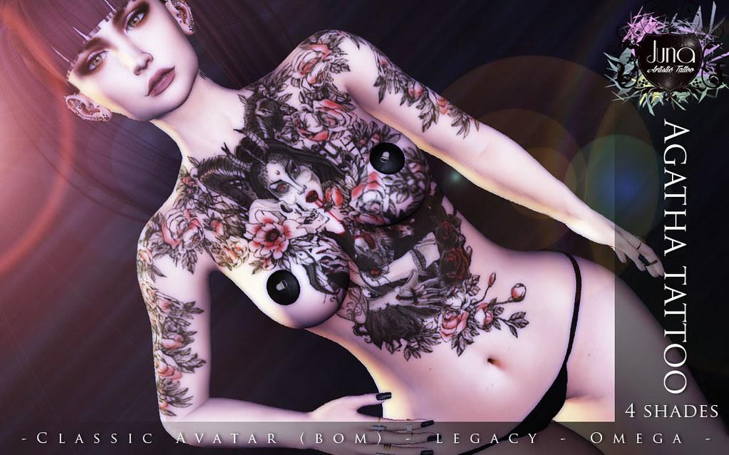 Agatha tattoo