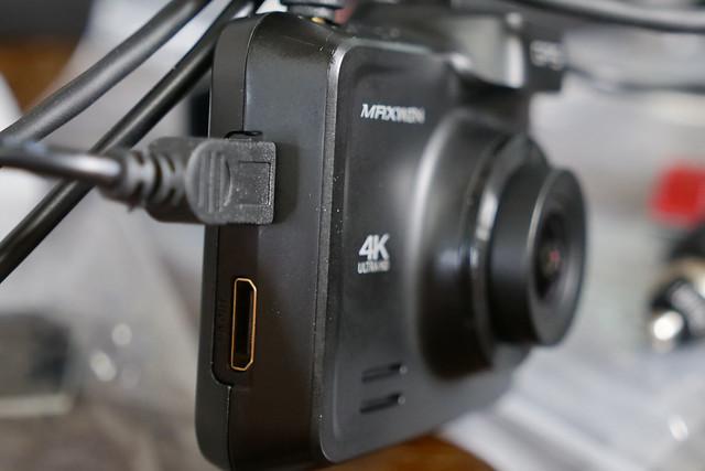 ドライブレコーダー 前後 カメラ 4K 800万画素 前後同時録画 2カメラ GPS リアカメラ SONYセンサー WDR ナイトビジョン タイムラプス バック連動 WiFi Gセンサー DVR-D019