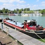 Boat at Preston Docks