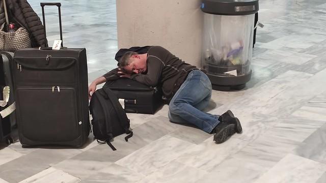 Cierre del aeropuerto de Lanzarote por la calima (23-02-20)