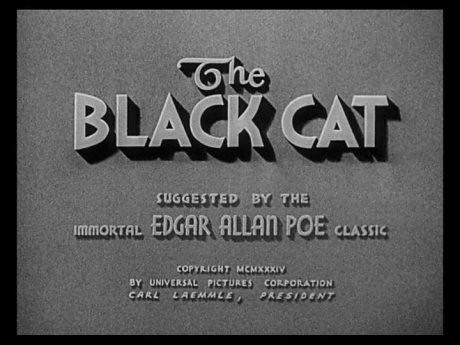 Title still du film Le Chat noir / The Black Cat (Edgar G. Ulmer, 1934)