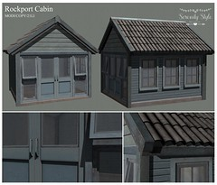Serenity Style- Rockport Cabin ad
