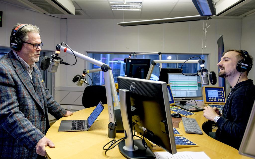20200224 Johan Wessman och Victor Pandurescu Radio Malmohus 1971