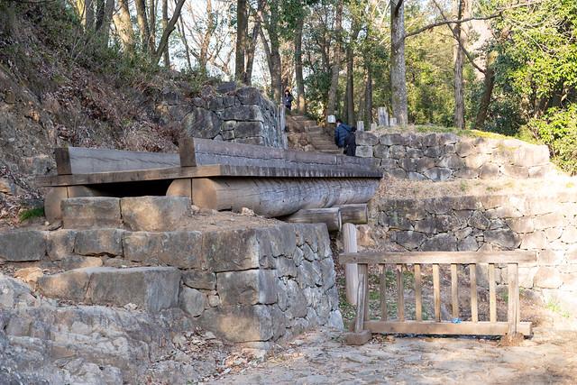 馬場下通路の木橋