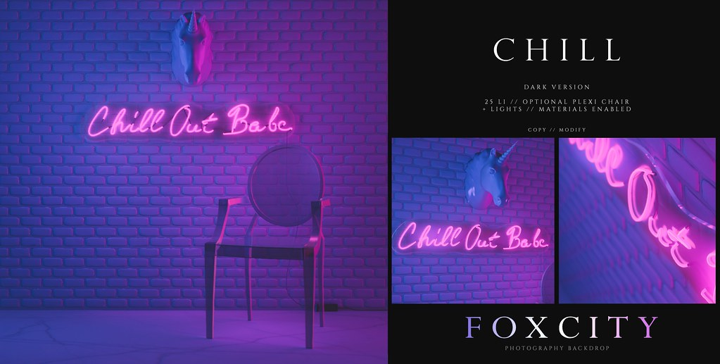 FOXCITY. Photo Booth – Chill (Dark)