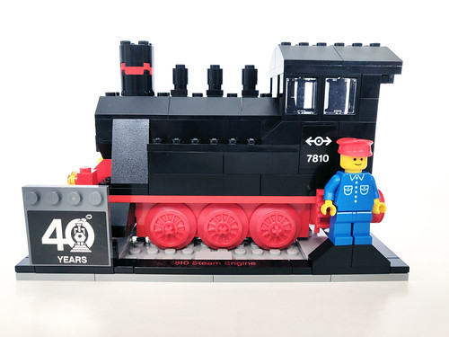 LEGO Iconic Steam Engine (40370)