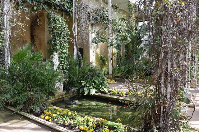 Belton House Orangery and Italian garden