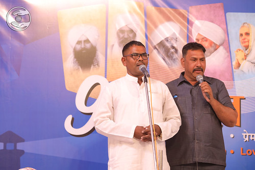 Dharam Raj presented devotional song