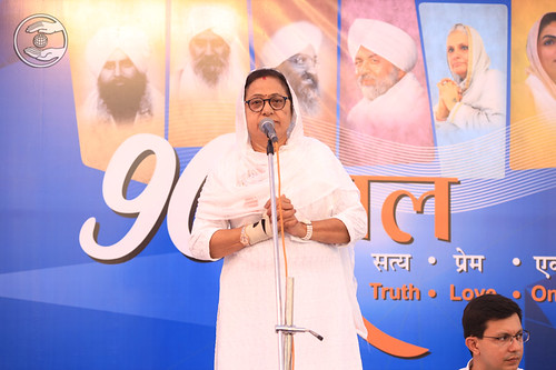 Godawari Ji presented Hindi speech, Ahmadabad