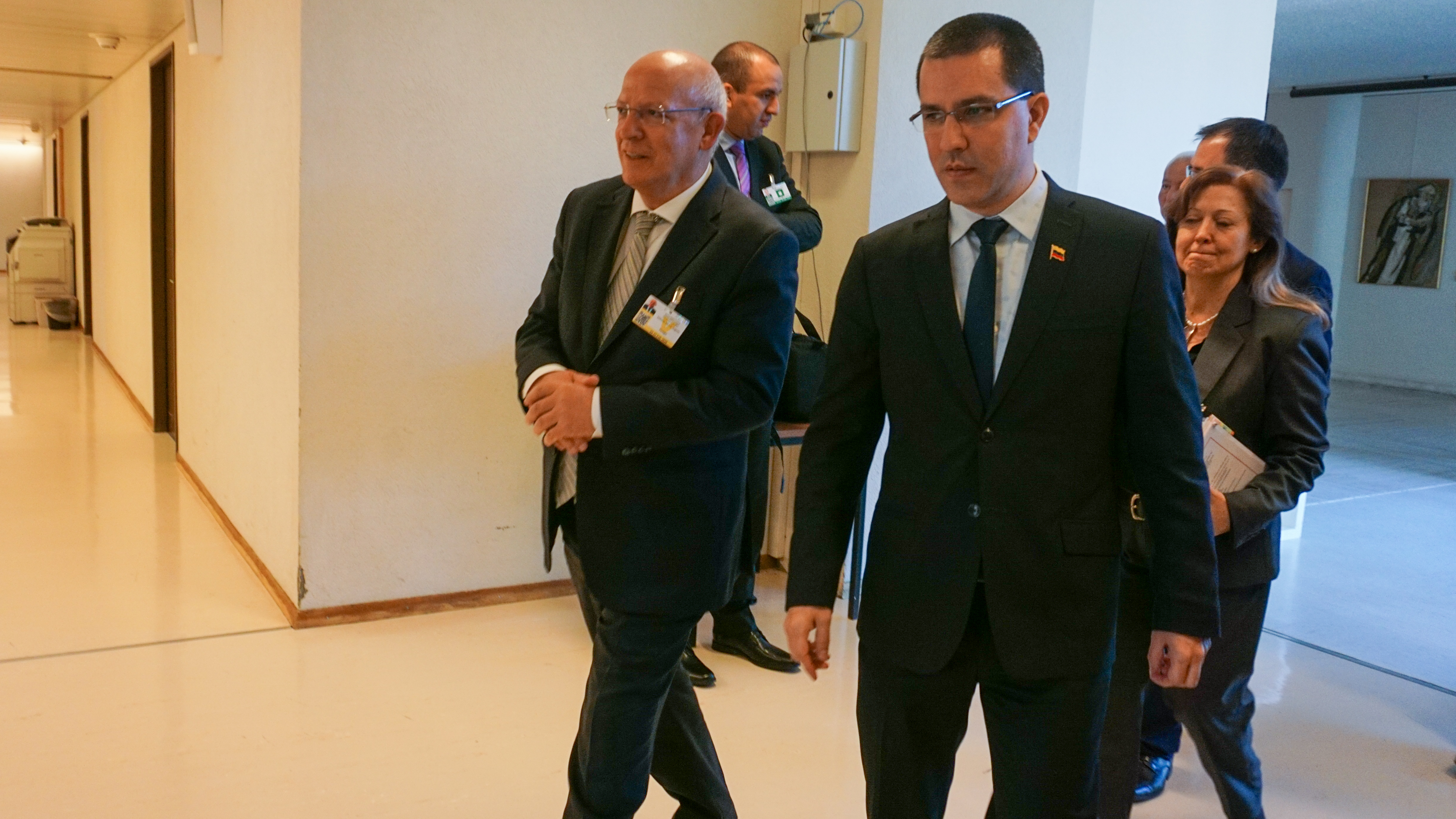 Cancilleres de Venezuela y Portugal reunidos en Ginebra evalúan relación bilateral