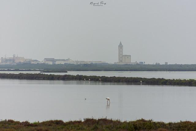 Iglesia Las Salinas, cabo de Gata, Almería