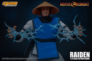 掌管雷電之力的神!STORM COLLECTIBLES《真人快打》雷電(RAIDEN - MORTAL KOMBAT ACTION FIGURE)