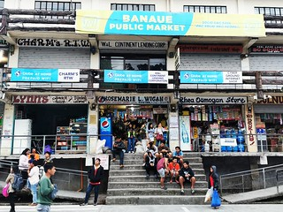 Banaue Public Market Central Square Banaue Poblacion  Ifugao Cordillera Administrative Region Philippines Southeast-Asia © Cordilleras Philippinen Südost-Asien ©