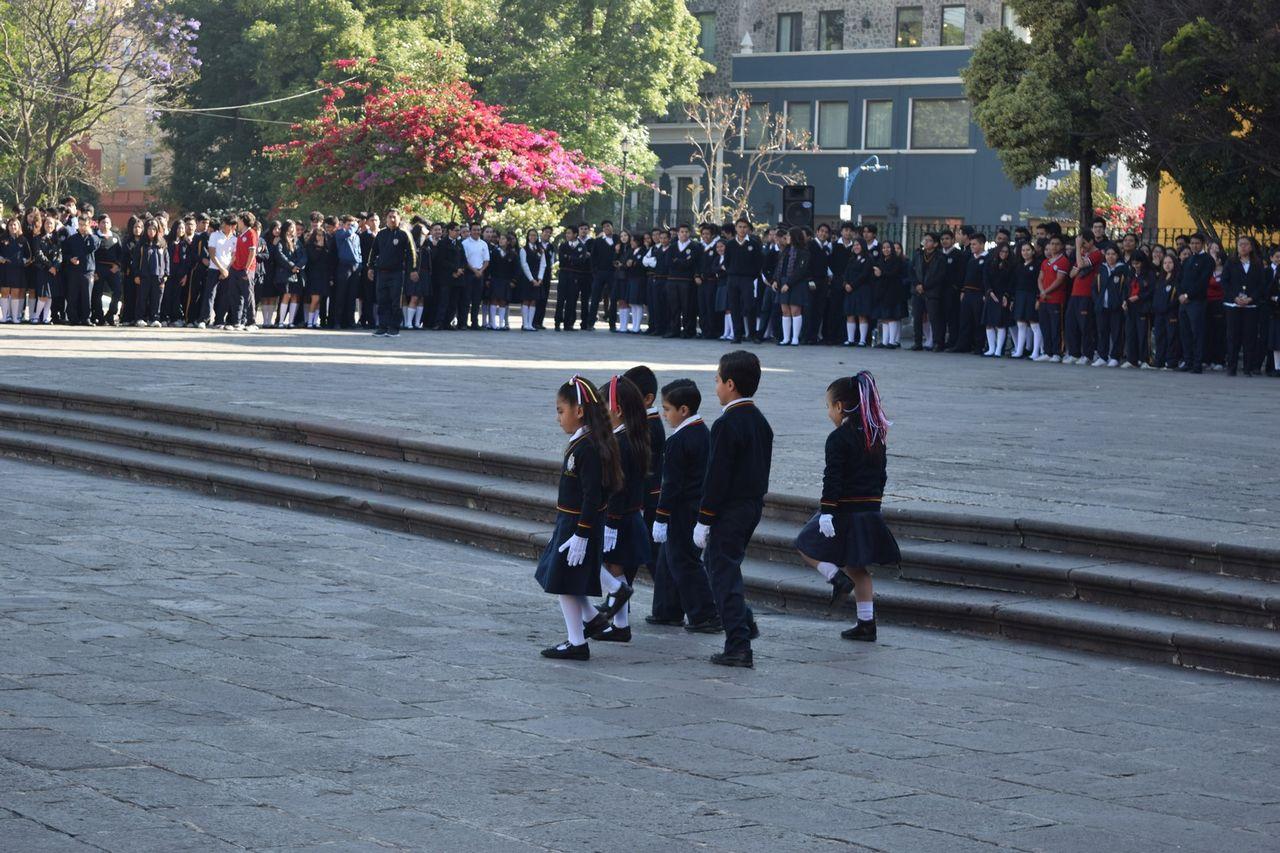 Ceremonia Cívica 24 de febrero