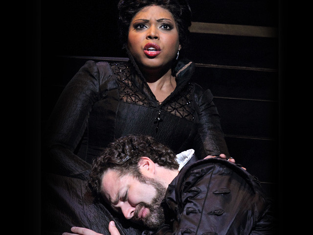 Kristin Lewis and Bryan Hymel in Don Carlo
