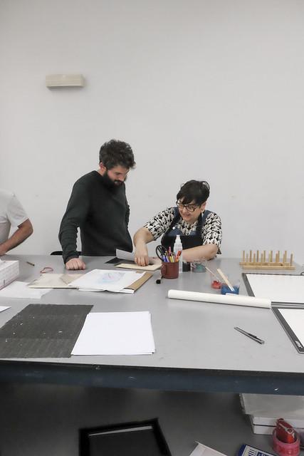 Tailerra / Taller: Xilografía japonesa: «De la tinta al moku-hanga» (Iniciación), Fabiola Gil
