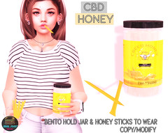 Junk Food - CBD Honey Ad