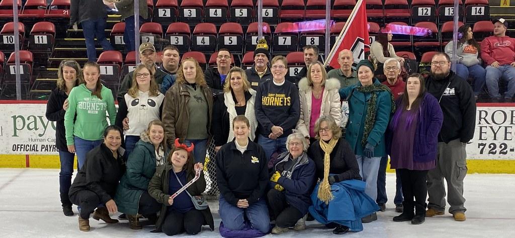 Alumni Night at the Binghamton Devils 2020