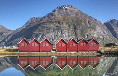 Sunndalsøra marina, Norway.