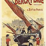 Mon, 2020-02-24 18:58 - CDF du Nord  Berck-Plage (pas de calais) a poster by Louis Tauzin. 1905