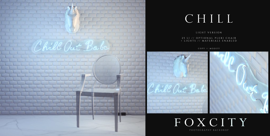 FOXCITY. Photo Booth – Chill (Light)
