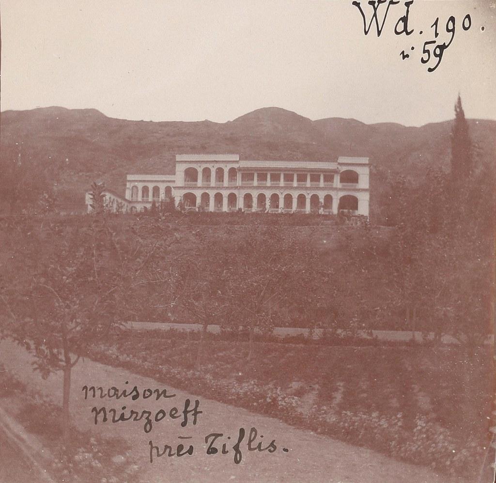 37. Дом Мирзоева, богатого армянина под Тифлисом