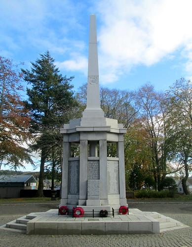 Epitaph, Huntly War Memorial