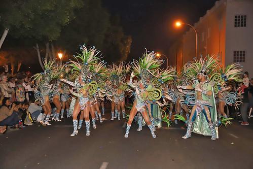Resultado de imagen de Arrecife vive un multitudinario coso de Carnaval