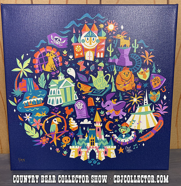 2020 Disney A Walk In The Park Print by Caley Hicks - CBCS #244