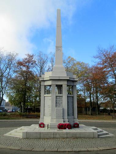 Huntly War Memorial Dedication