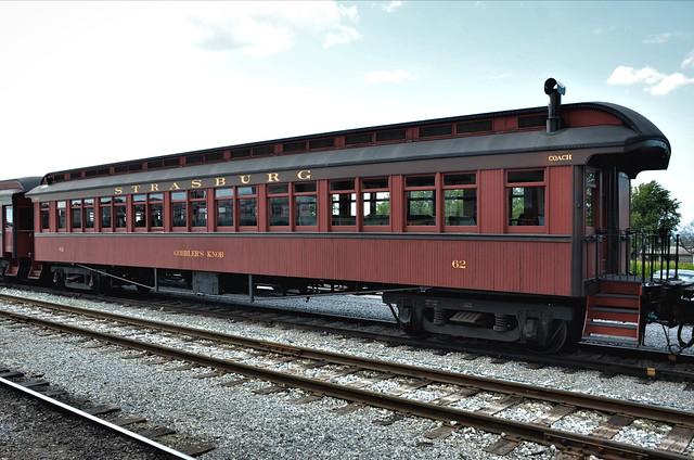 Boston & Maine Railroad; Strasburg Rail Road No. 62,