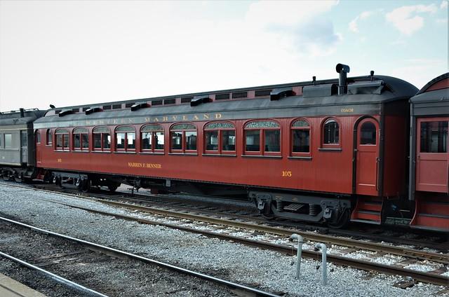 Western Maryland Railroad; Strasburg Rail Road No. 105,