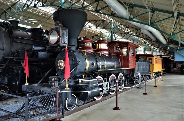 Virginia & Truckee Railroad No. 20,