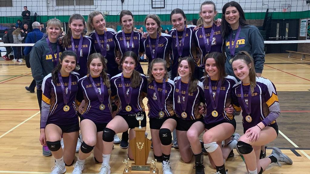 2019-20 Junior Girls Volleyball Champions: Ancaster Royals