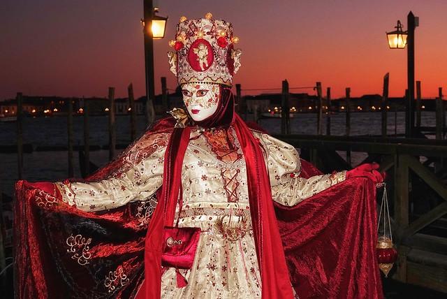 Venice Carnival sunset (2020)