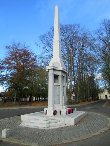 War Memorial, Huntly