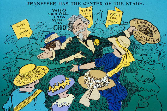 Saints or Monsters: Political Cartoons of the 19th Amendment