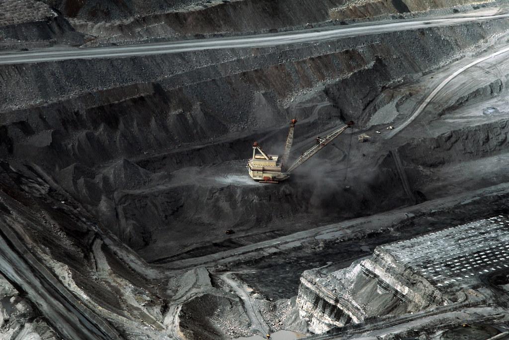 力拓集團的班卡拉煤礦場(Bengalla Coal Mine)。圖片來源:Lock the Gate Alliance