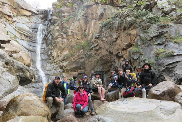 2020-02-22 Cedar Creek Falls intro to backpacking